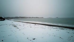Spiaggia di Devereux Fotografie Stock