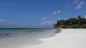 Spiaggia di Diani Fotografie Stock