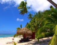 Spiaggia di distensione fotografie stock libere da diritti