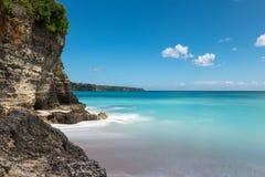 Spiaggia di Dreamland in Bali Fotografia Stock