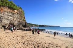 Spiaggia di Dreamland - Bali fotografia stock