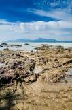 Spiaggia di Dungun Immagine Stock Libera da Diritti