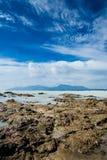 Spiaggia di Dungun Immagini Stock