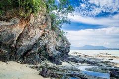 Spiaggia di Dungun Fotografie Stock Libere da Diritti