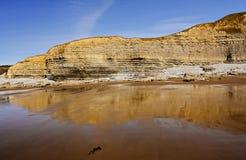 Spiaggia di Dunraven, Southerndown, Galles Fotografie Stock Libere da Diritti