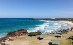 Spiaggia di Duranbah - la Gold Coast Australia Fotografia Stock