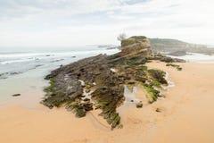 Spiaggia di EL Camello Immagini Stock
