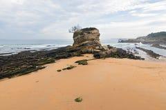 Spiaggia di EL Camello Fotografia Stock