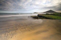 Spiaggia di EL Medano di Tenerife Fotografia Stock