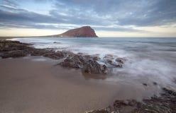 Spiaggia di EL Medano di Tenerife Immagini Stock Libere da Diritti