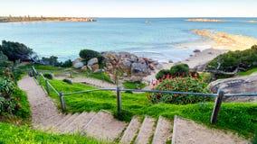 Spiaggia di Elliot del porto, Australia Meridionale Immagini Stock Libere da Diritti