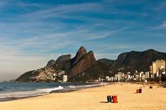 Spiaggia di Emptu Ipanema fotografie stock libere da diritti