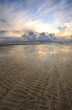 Spiaggia di Enniscrone Fotografie Stock Libere da Diritti