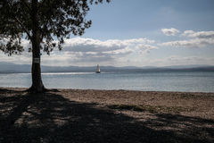 Spiaggia di Eretrias Immagine Stock Libera da Diritti
