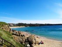 Spiaggia di Ermida Lanzada - costa del nord Spagna Fotografia Stock Libera da Diritti