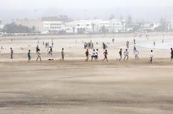 Spiaggia di Essaouira Fotografia Stock Libera da Diritti