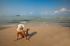 Spiaggia di estate Fotografia Stock