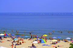 Spiaggia di estate Immagine Stock Libera da Diritti