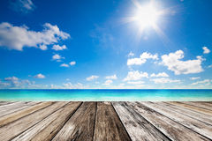 Spiaggia di estate Immagini Stock