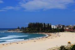 Spiaggia di estate Immagini Stock Libere da Diritti