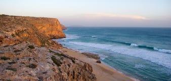 Spiaggia di Ethel al crepuscolo Immagine Stock