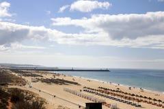 Spiaggia di Falesia - Vilamoura Fotografie Stock Libere da Diritti