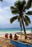 Spiaggia di Filippine Immagini Stock