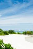 spiaggia di finolhu di feydhoo - Maldive Fotografie Stock