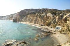 Spiaggia di Firiplaka Immagini Stock