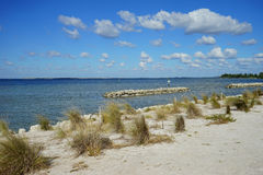 Spiaggia di Florida Apollo fotografia stock libera da diritti