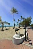 Spiaggia di Fort Lauderdale Immagini Stock Libere da Diritti