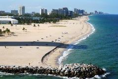 Spiaggia di Fort Lauderdale Fotografie Stock Libere da Diritti