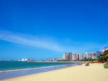 Spiaggia di Fortaleza Immagini Stock Libere da Diritti
