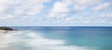 Spiaggia di Frenchmans sull'isola di Stradbroke, Queensland Fotografia Stock