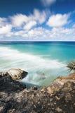 Spiaggia di Frenchmans sull'isola di Stradbroke, Queensland Immagini Stock Libere da Diritti