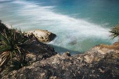 Spiaggia di Frenchmans sull'isola di Stradbroke, Queensland Immagine Stock Libera da Diritti