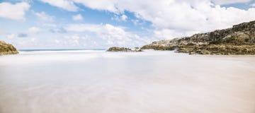 Spiaggia di Frenchmans sull'isola di Stradbroke, Queensland Fotografie Stock Libere da Diritti