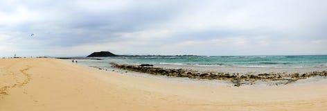 Spiaggia di Fuerteventura Fotografie Stock Libere da Diritti