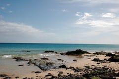 Spiaggia di Fuerteventura Fotografie Stock
