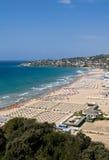 Spiaggia di Gaeta Fotografia Stock Libera da Diritti