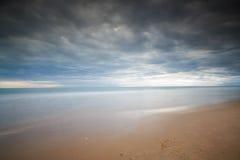 Spiaggia di Gaeta Serapo Fotografia Stock