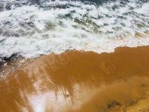 Spiaggia di Galleface della Sri Lanka fotografia stock