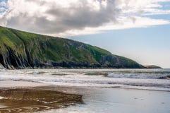 Spiaggia di Galles Immagini Stock
