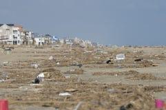 Spiaggia di Galveston Immagini Stock Libere da Diritti