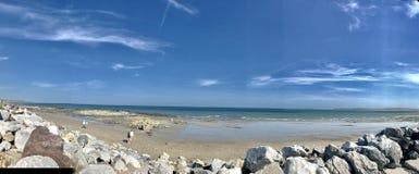 Spiaggia di Garryvoe Immagini Stock Libere da Diritti