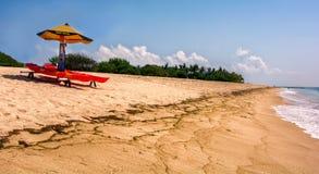 Spiaggia di Geger, Nusadua, Bali, Indonesia Immagine Stock Libera da Diritti