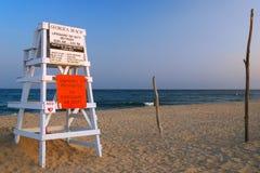 Spiaggia di Georgica, Hampton orientale fotografie stock libere da diritti