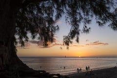 Spiaggia di Gilles del san, La Reunion Island, Francia fotografia stock