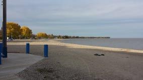 Spiaggia di Gimli fotografia stock libera da diritti