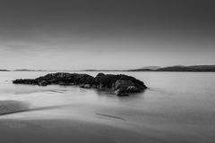 Spiaggia di Glassillaun Fotografia Stock
